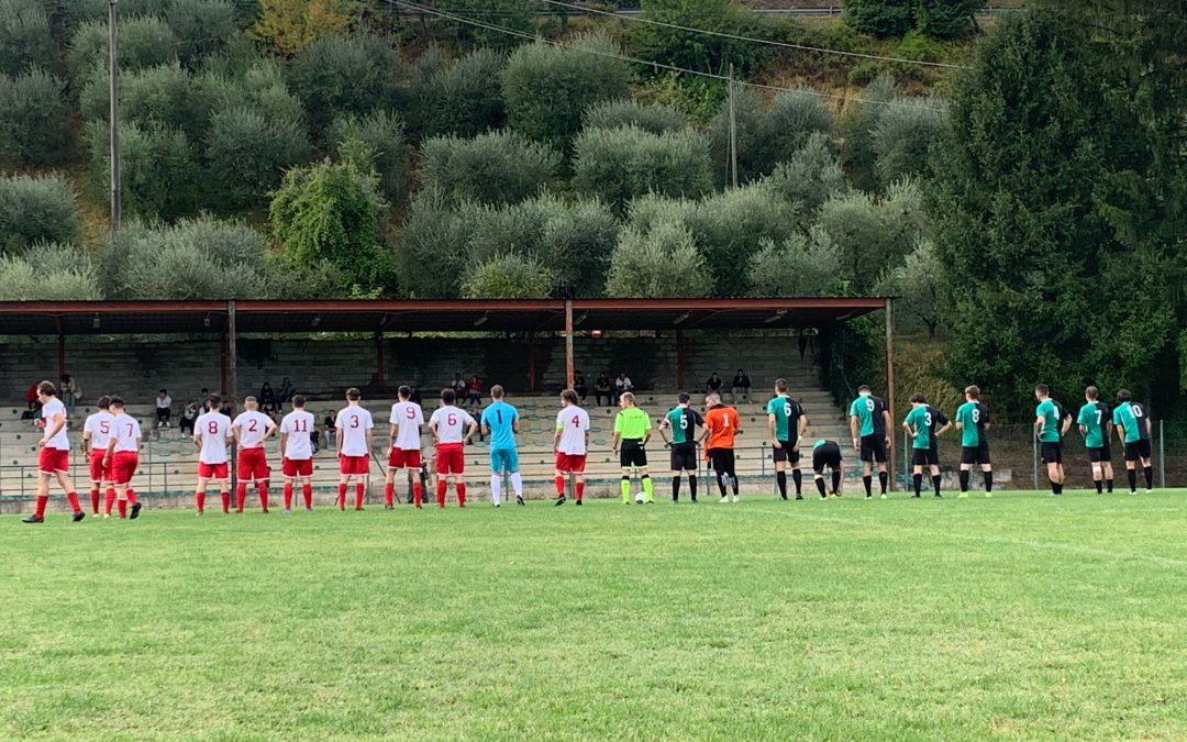 Sconfitta a Ronta nell'esordio in Coppa Toscana